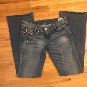 Diesel | Louvely Jeans | Low Rise | Size 28